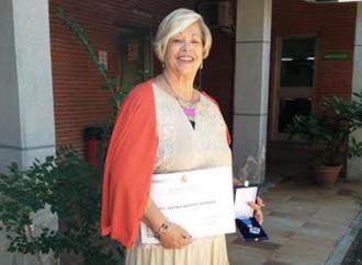 Medalla de Plata al Mérito Social a Amparo Moriche