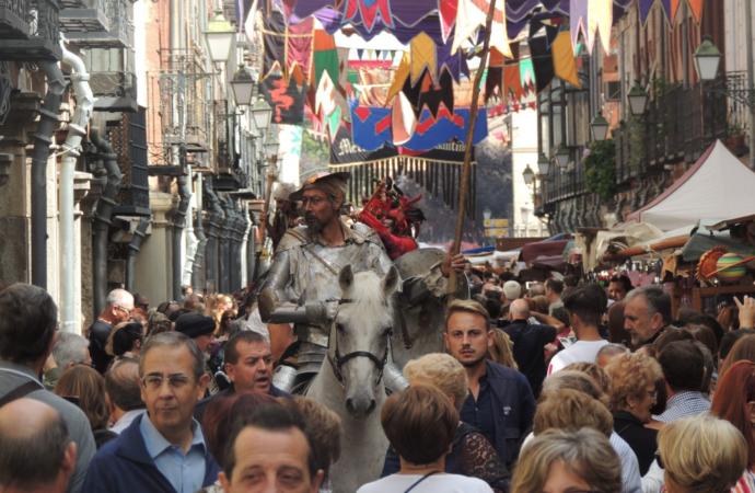 Último día del Mercado Medieval de Alcalá de Henares