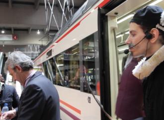 Cervantes se sube al tren también en verano para venir a Alcalá