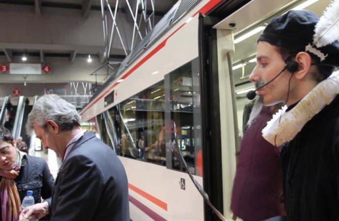 Alcalá de Henares se sube al Tren de Cervantes en Fitur 2019