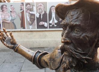 Don Quijote y Sancho Panza te invitan al Mercado Siglo de Oro de Alcalá