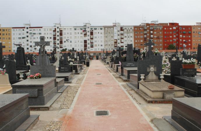 El Ayuntamiento de Alcalá de Henares finaliza las obras de urbanización de los viales del cementerio municipal