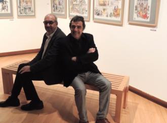 Exposición: Gallego y Rey, 35 años de historia de España sacando sonrisas
