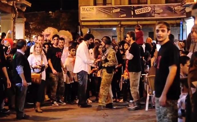 Halloween 2019: Alcalá se llenó de zombies por una noche