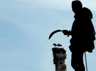Homenaje al bautismo de Miguel de Cervantes en Alcalá marcado por la pandemia sanitaria