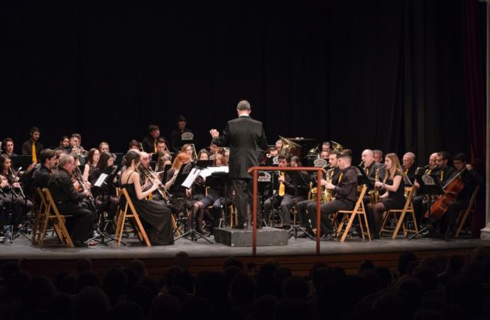La Banda Sinfónica Complutense canta a Cervantes por Santa Cecilia