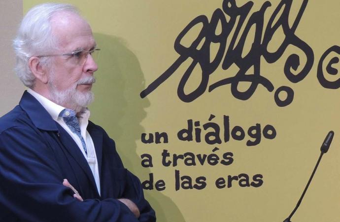 Forges presenta a sus personajes en la Casa de Cervantes de Alcalá