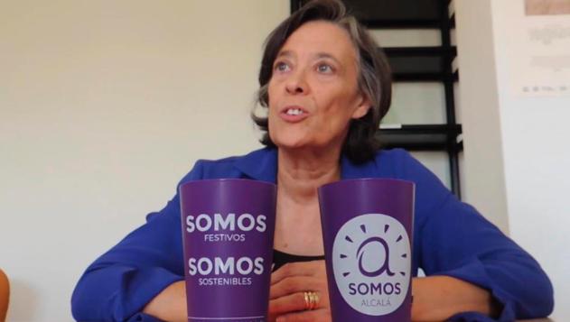 """26M Alcalá / Olga García, de Somos Alcalá – Equo: """"En 2015 se invertían 100.000 euros, el año pasado  32,5 millones"""""""