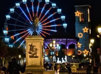 Navidad en Alcalá: Atracciones y un mercado navideño en la Plaza de Cervantes
