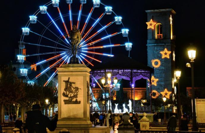 Así son las luces de la Navidad de Alcalá de Henares