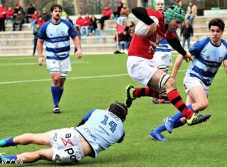 Balones de rugby para los niños del Príncipe de Asturias