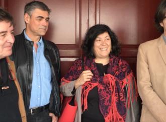 Almudena Grandes presenta a Eduardo Mendicutti en la Librería de Javier