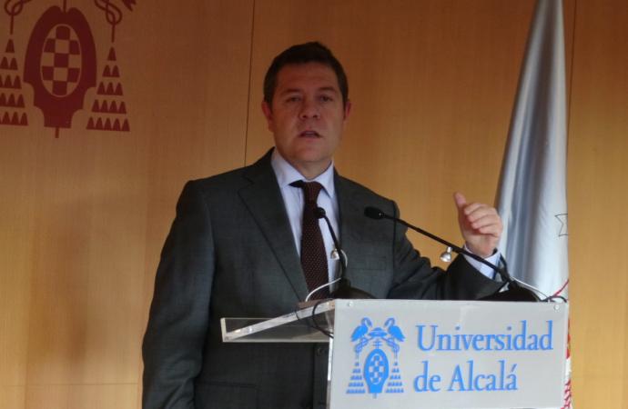 Page apuesta por un Campus de la Universidad de Alcalá en el Centro de Guadalajara