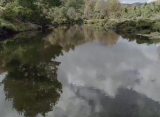 Concurso / El río Sorbe, del que bebe Alcalá, a vista de dron
