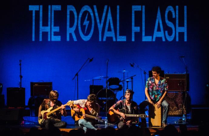 Así suena lo nuevo de The Royal Flash