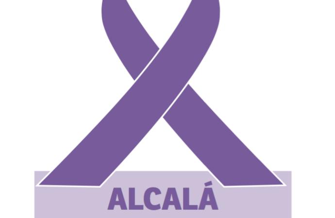 El color morado ya luce en Alcalá: con la igualdad y contra la violencia machista