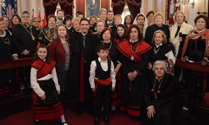 Domingo, 3 de febrero: el día que las mujeres «toman el bastón del mando de Alcalá»