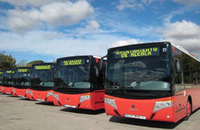 Restablecido al completo todo el servicio de autobuses urbanos de Alcalá de Henares
