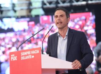 Javier Rodríguez: «El secretario general del PSOE se llama Pedro Sánchez»