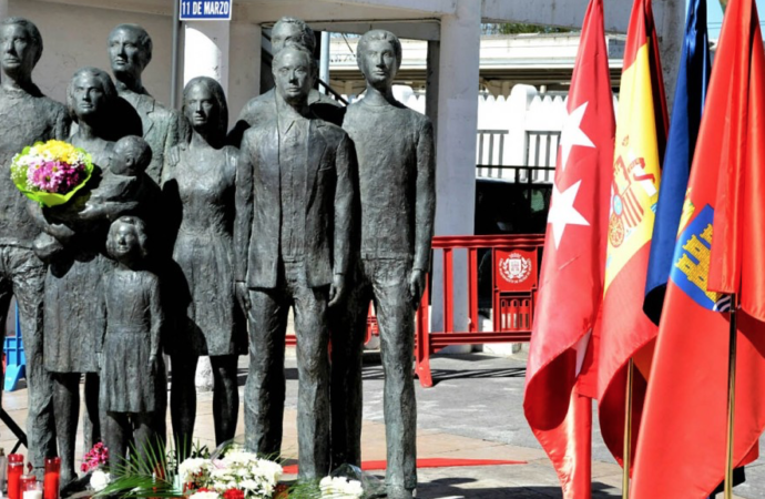 Homenaje a las víctimas del 11-M en Alcalá de Henares