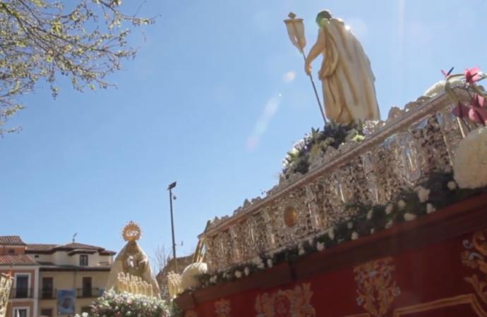 Semana Santa Alcalá 2020. Domingo de Resurrección. El encuentro entre Jesús Resucitado y la Virgen María