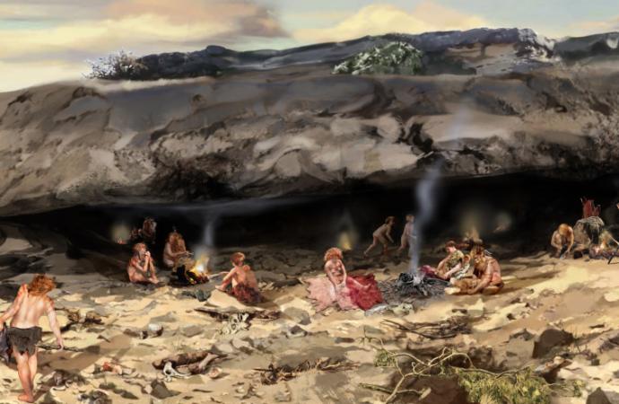 Vuelven las visitas guiadas al Valle de los Neandertales en Pinilla del Valle