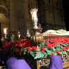 Viernes Santo: Alcalá, de luto, en el Santo Entierro