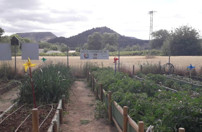 Los huertos urbanos de Alcalá, también para personas con diversidad funcional