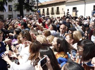 Ver a los Reyes con prismáticos en Alcalá