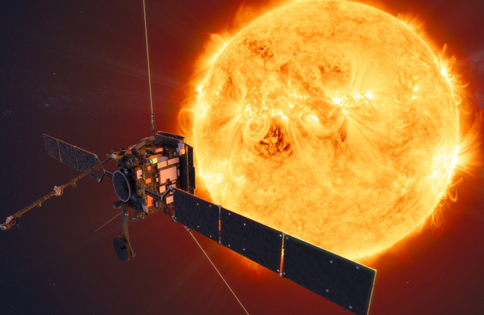 Solar Orbiter, la misión con tecnología de la Universidad de Alcalá, ya está en la estela del cometa ATLAS
