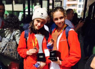 Medalla de oro y tres platas para la nadadora alcalaína Claudia Espinosa