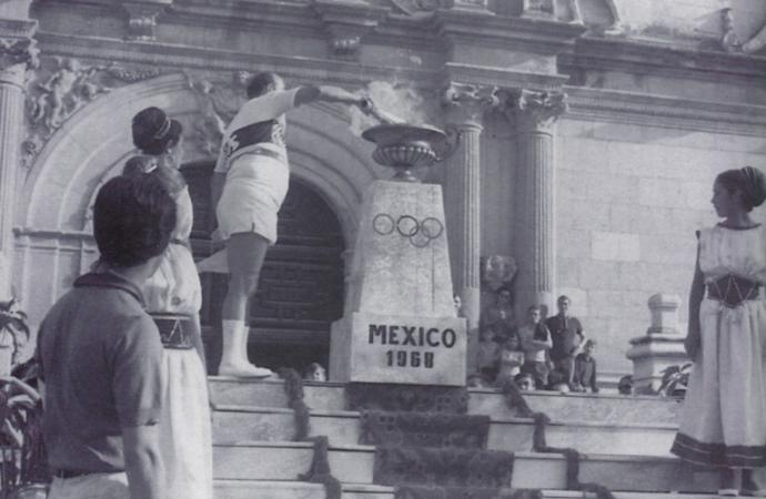 Cuando la llama olímpica llegó a Alcalá