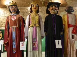 Los Gigantes, los Reyes de la Navidad en Alcalá