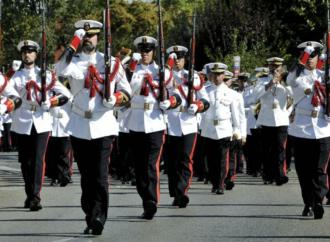 Cortes de tráfico en la Avenida de Meco por el acto de la Armada