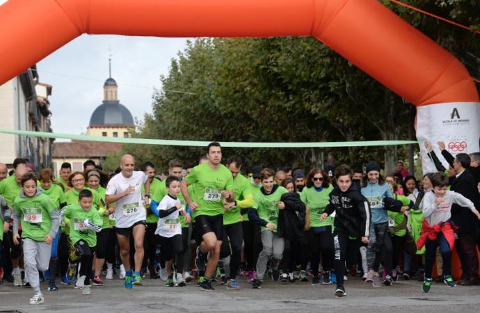 Una carrera para ganar al cáncer en Alcalá