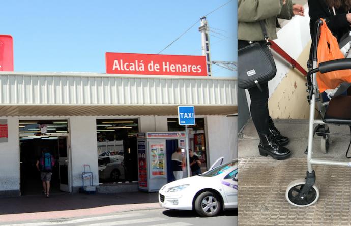 ¿Hasta cuándo la estación de RENFE de Alcalá seguirá siendo inaccesible? Más peticiones desde Change.org para intentar que, por fin, lo sea