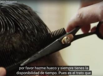 Los peluqueros que han revolucionado Alcalá con su vídeo