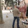 Ramón Córdoba gana el XIV certamen de pintura rápida al aire libre de Alcalá de Henares
