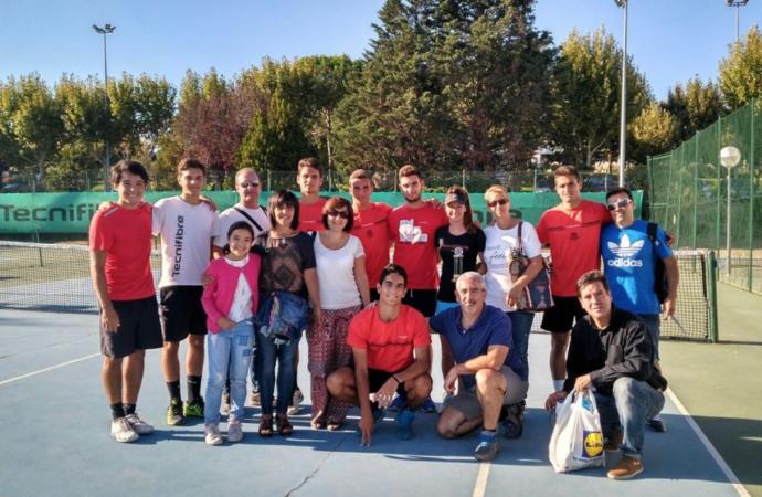 La Escuela de Tenis de Alcalá, la mejor de España