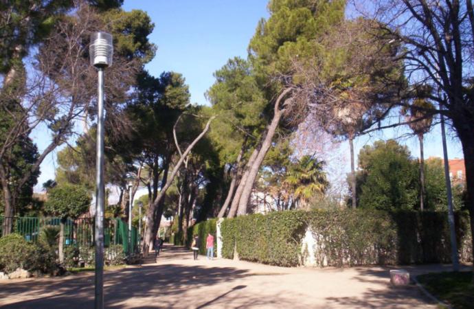 Nuevo mural Mandala en el Parque O'Donnell en Alcalá