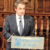 Zapatero recoge el Francisca de Pedraza: «Que este premio sea el eco de la memoria»