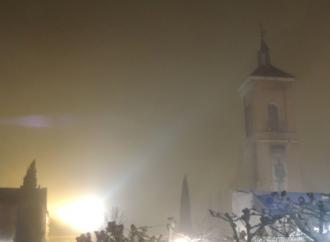 La niebla 'convierte' Alcalá en Londres