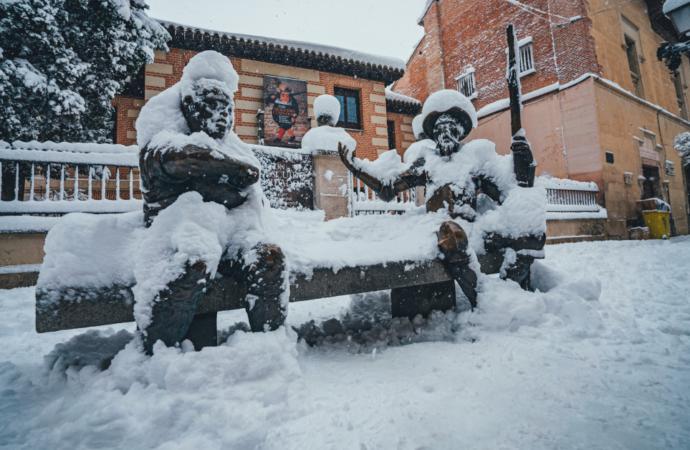 Especial Nieve: ¿Cuánto frío aguantan las cigüeñas a la intemperie?