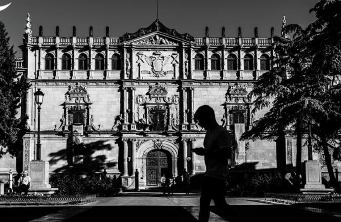 Fachada Rectorado / Alcalá, Patrimonio de la Humanidad: fotos con alma
