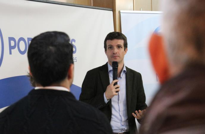 Los cuatro compromisarios de Alcalá votarán a Pablo Casado en las primarias del PP