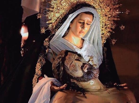 Semana Santa en Alcalá / Procesión del Cristo de los Desamparados