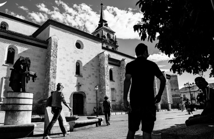 Plaza de los Santos Niños / Alcalá, Patrimonio de la Humanidad: fotos con alma