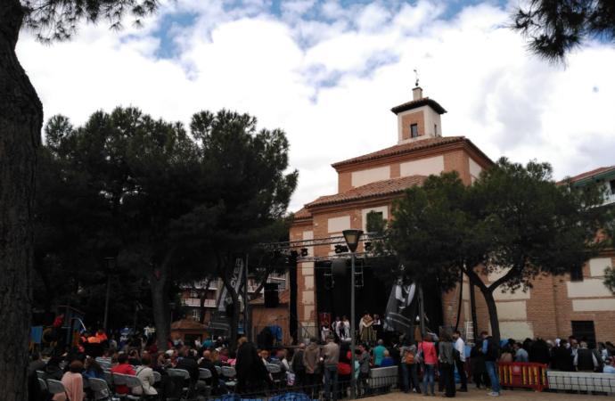 Cuando se trillaba junto a la ermita de San Isidro en Alcalá de Henares