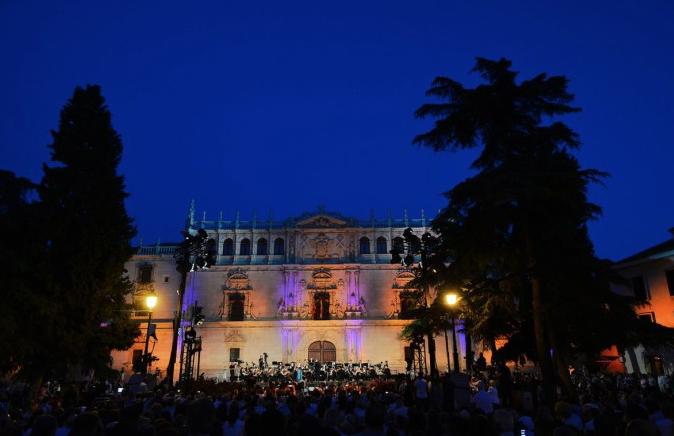 """Alcalá celebró """"La Noche del Patrimonio""""con aforos reducidos y medidas de seguridad sanitarias"""