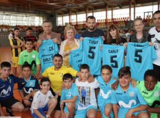 """De Gea y el Fútbol Sala de Alcalá se vuelcan en el """"I Memorial Carly 5″"""